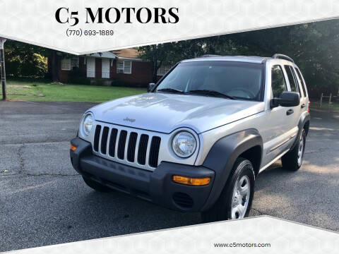 2002 Jeep Liberty for sale at C5 Motors in Marietta GA