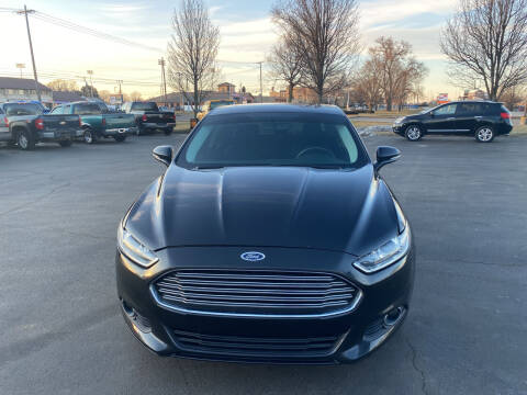 2015 Ford Fusion for sale at Boardman Auto Exchange in Youngstown OH