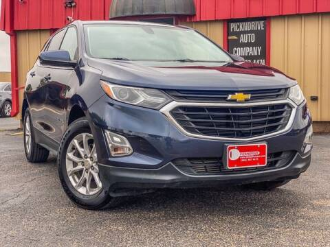 2018 Chevrolet Equinox for sale at MAGNA CUM LAUDE AUTO COMPANY in Lubbock TX