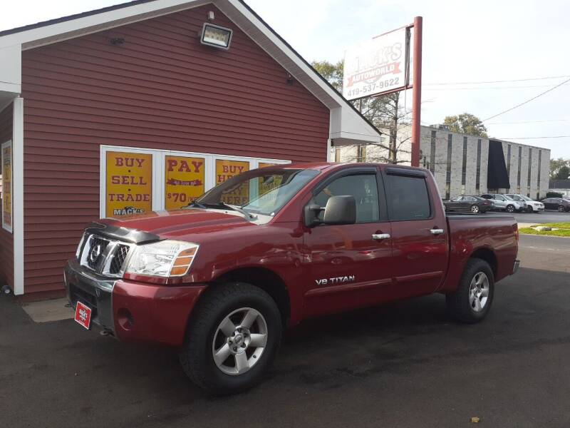 2006 Nissan Titan for sale at Mack's Autoworld in Toledo OH