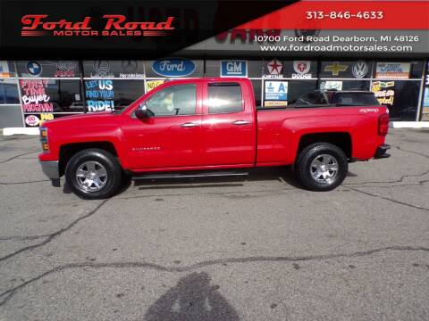 2014 Chevrolet Silverado 1500 for sale at Ford Road Motor Sales in Dearborn MI