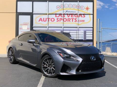2015 Lexus RC F for sale at Las Vegas Auto Sports in Las Vegas NV