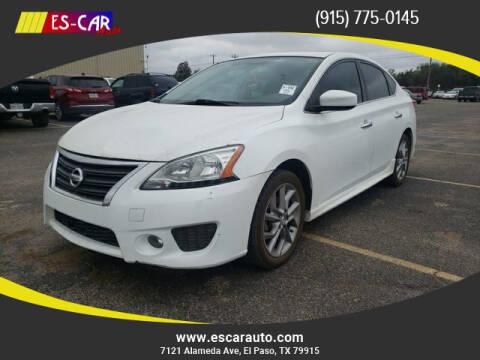 2014 Nissan Sentra for sale at Escar Auto in El Paso TX