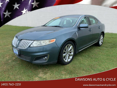 2010 Lincoln MKS for sale at Dawsons Auto & Cycle in Glen Burnie MD