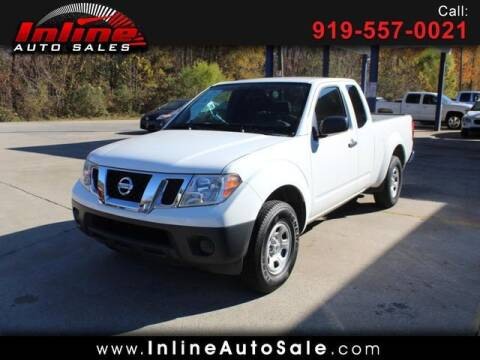 2015 Nissan Frontier for sale at Inline Auto Sales in Fuquay Varina NC