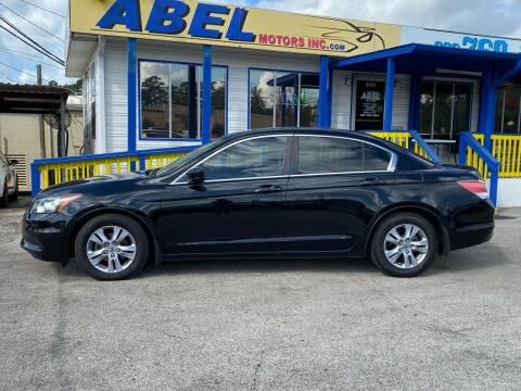 2012 Honda Accord for sale at Abel Motors, Inc. in Conroe TX