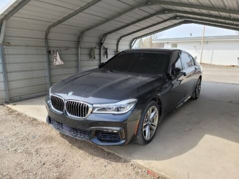2017 BMW 7 Series for sale at Clare Auto Sales, Inc. in Clare MI