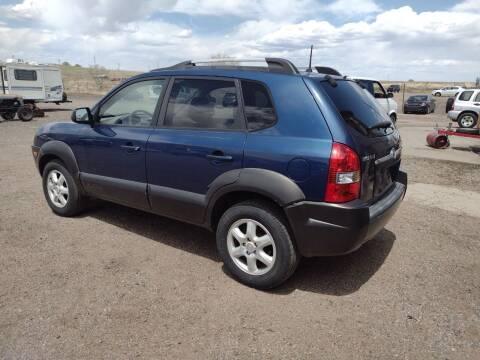 2005 Hyundai Tucson for sale at PYRAMID MOTORS - Pueblo Lot in Pueblo CO
