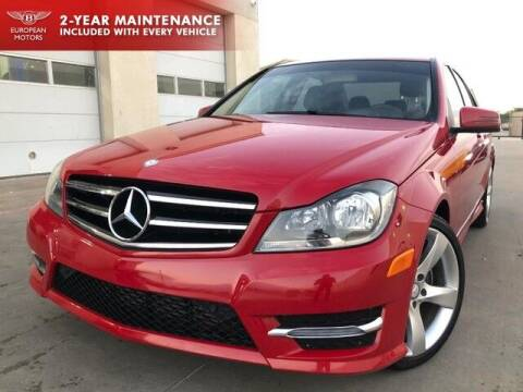 2014 Mercedes-Benz C-Class for sale at European Motors Inc in Plano TX
