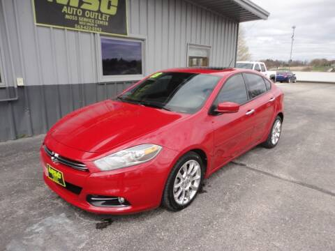 2013 Dodge Dart for sale at Moss Service Center-MSC Auto Outlet in West Union IA