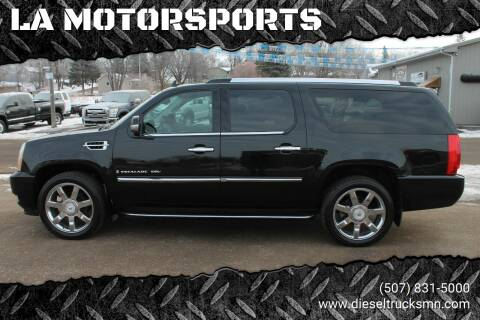 2008 Cadillac Escalade ESV for sale at LA MOTORSPORTS in Windom MN