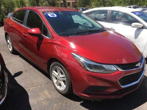 2018 Chevrolet Cruze for sale at 4X4 Auto Sales in Durango CO
