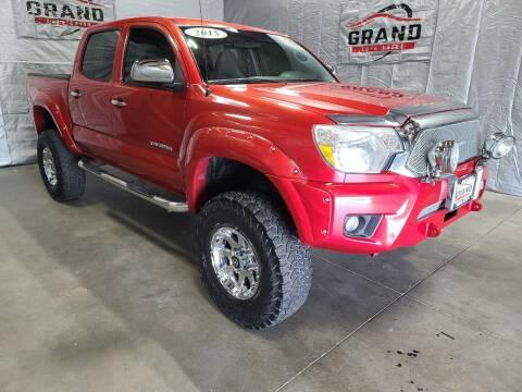 2015 Toyota Tacoma for sale at GRAND AUTO SALES in Grand Island NE