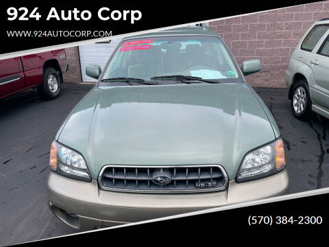 2004 Subaru Outback for sale at 924 Auto Corp in Sheppton PA