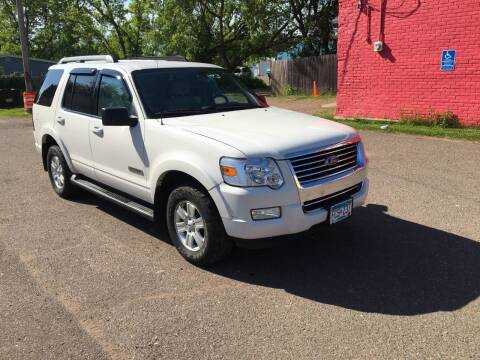 2008 Ford Explorer for sale at WB Auto Sales LLC in Barnum MN