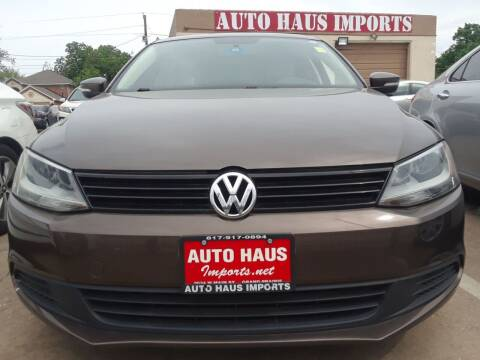 2011 Volkswagen Jetta for sale at Auto Haus Imports in Grand Prairie TX