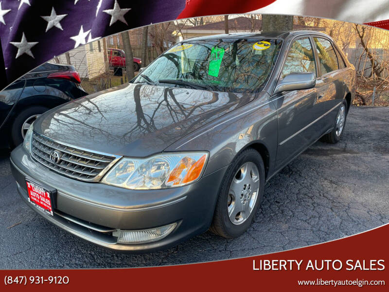 2003 Toyota Avalon for sale at Liberty Auto Sales in Elgin IL