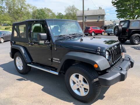 2012 Jeep Wrangler for sale at Twin Rocks Auto Sales LLC in Uniontown PA