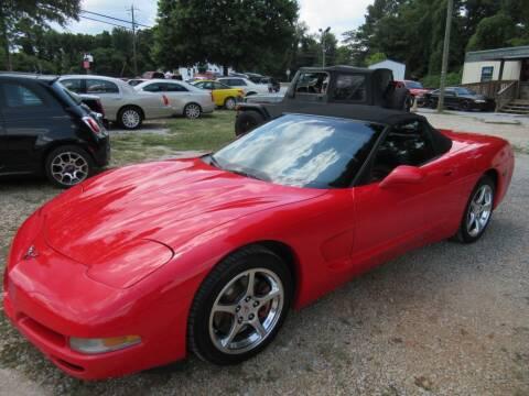 2002 Chevrolet Corvette for sale at Dallas Auto Mart in Dallas GA