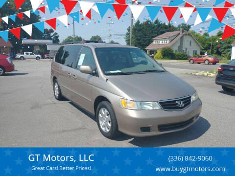 2004 Honda Odyssey for sale at GT Motors, LLC in Elkin NC