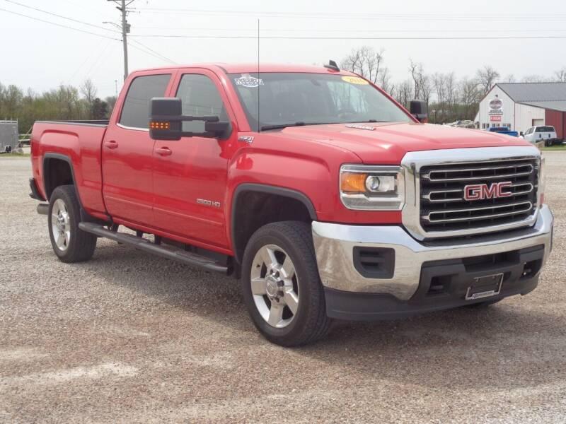 2016 GMC Sierra 2500HD for sale at Burkholder Truck Sales LLC (Versailles) in Versailles MO