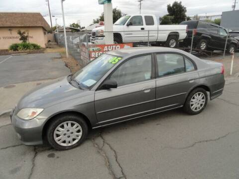 2005 Honda Civic for sale at Gridley Auto Wholesale in Gridley CA