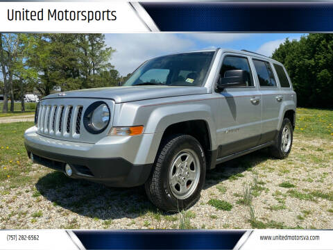 2011 Jeep Patriot for sale at United Motorsports in Virginia Beach VA