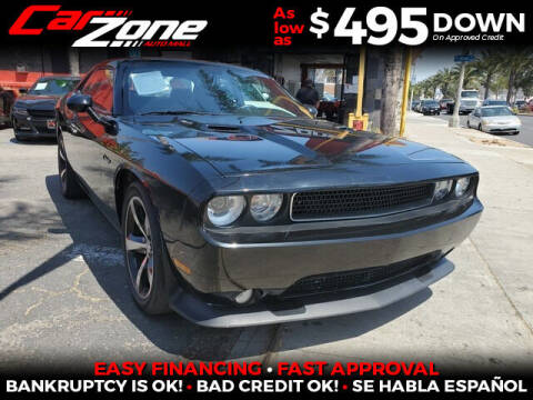 2014 Dodge Challenger for sale at Carzone Automall in South Gate CA
