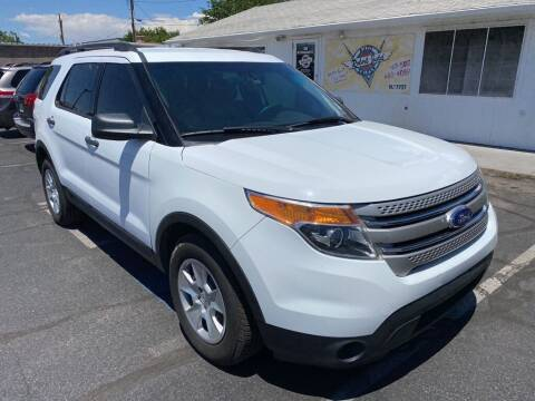 2013 Ford Explorer for sale at Robert Judd Auto Sales in Washington UT