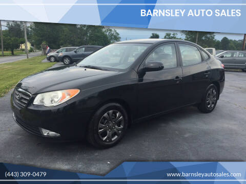 2009 Hyundai Elantra for sale at Barnsley Auto Sales in Oxford PA