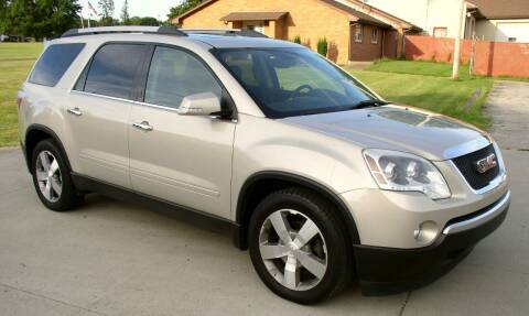 2011 GMC Acadia for sale at Angelo's Auto Sales in Lowellville OH
