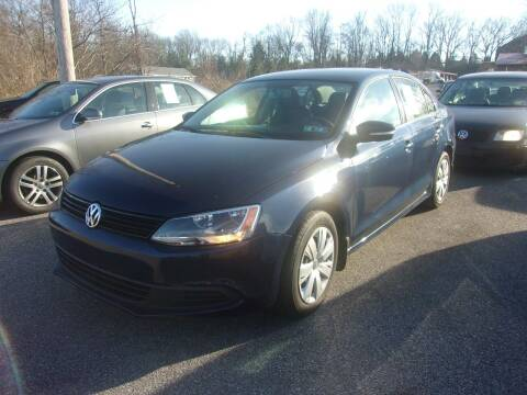 2012 Volkswagen Jetta for sale at ULRICH SALES & SVC in Mohnton PA