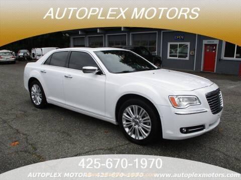 2014 Chrysler 300 for sale at Autoplex Motors in Lynnwood WA