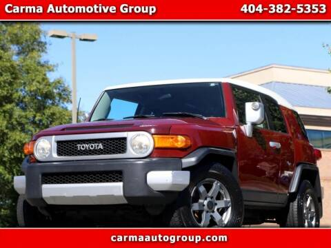 2008 Toyota FJ Cruiser for sale at Carma Auto Group in Duluth GA