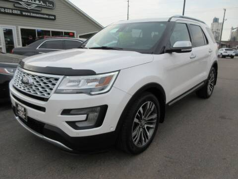 2017 Ford Explorer for sale at Dam Auto Sales in Sioux City IA
