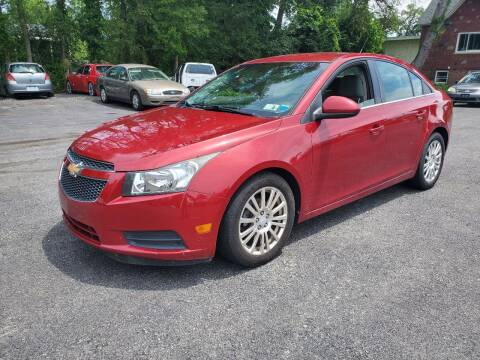 2012 Chevrolet Cruze for sale at AFFORDABLE IMPORTS in New Hampton NY
