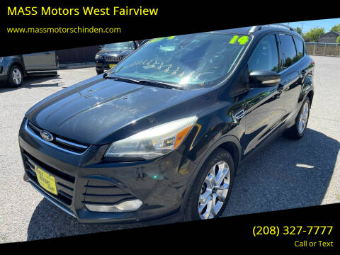 2014 Ford Escape for sale at MASS Motors West Fairview in Boise ID