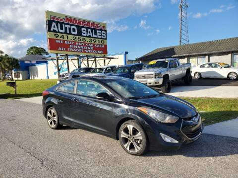 2013 Hyundai Elantra Coupe for sale at Mox Motors in Port Charlotte FL