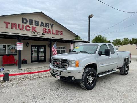 2013 GMC Sierra 2500HD for sale at DEBARY TRUCK SALES in Sanford FL