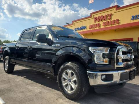2016 Ford F-150 for sale at Popas Auto Sales in Detroit MI