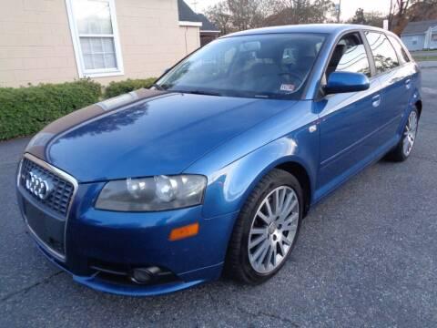 2007 Audi A3 for sale at Liberty Motors in Chesapeake VA