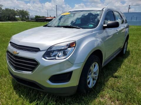 2017 Chevrolet Equinox for sale at VC Auto Sales in Miami FL