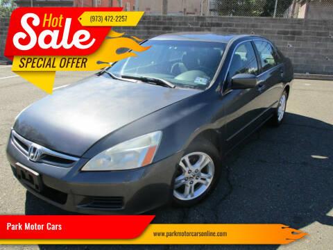 2006 Honda Accord for sale at Park Motor Cars in Passaic NJ