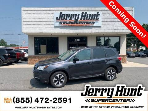 2018 Subaru Forester for sale at Jerry Hunt Supercenter in Lexington NC