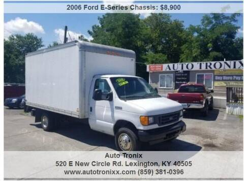 2006 Ford E-Series Chassis for sale at Auto Tronix in Lexington KY
