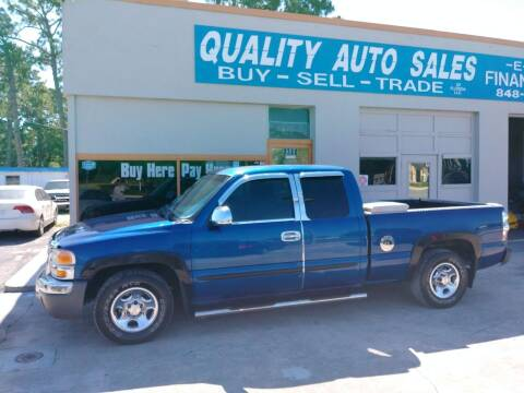 2003 GMC Sierra 1500 for sale at QUALITY AUTO SALES OF FLORIDA in New Port Richey FL