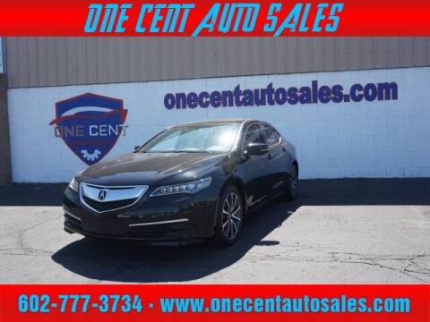 2016 Acura TLX for sale at One Cent Auto Sales in Glendale AZ