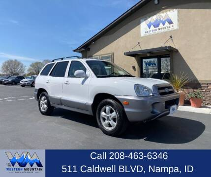 2005 Hyundai Santa Fe for sale at Western Mountain Bus & Auto Sales in Nampa ID