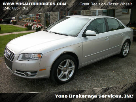 2007 Audi A4 for sale at Yono Brokerage Services, INC in Farmington MI