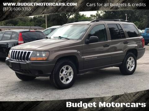 2001 Jeep Grand Cherokee for sale at Budget Motorcars in Tampa FL